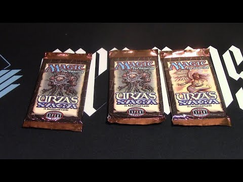 MTG Urza's Saga 3 Boosters Opened! Time to get that Gaea's Cradle!