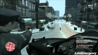 [FatalEmergency] GTA IV - Police Pursuit Mod - V.P.D responds to a Terrorist Threat.