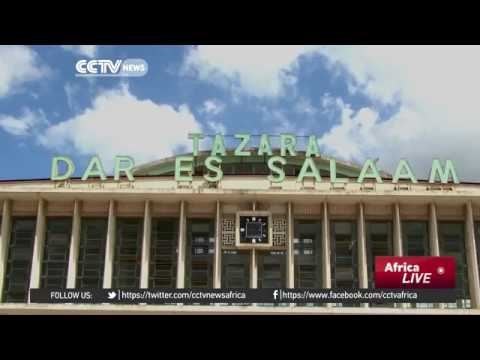33060 economics Welt CCTV Afrique Tanzania, Zambia presidents agree to open up railway management to