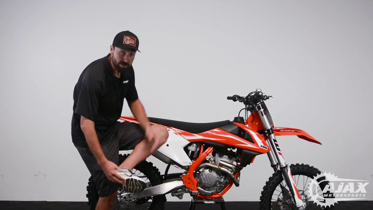 Proper Foot Placement // G.A.M.E. Motocross Techniques