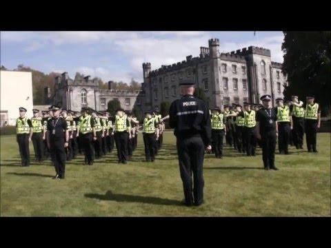 Running Man Challenge Police Scotland College - Tulliallan
