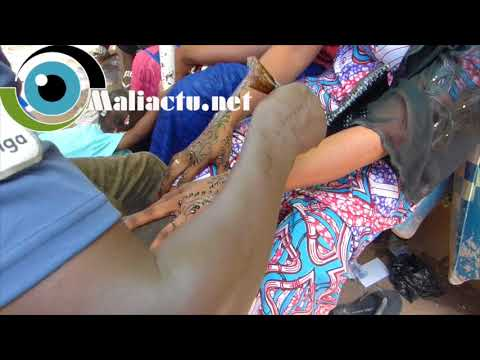 Mali : Henné : Vente et Tatouage, un business fleurissant à l'approche de la fête