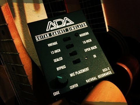 ADA - GCS-2 Guitar Cabinet Simulator & DI Box - by Júnior Ferreira