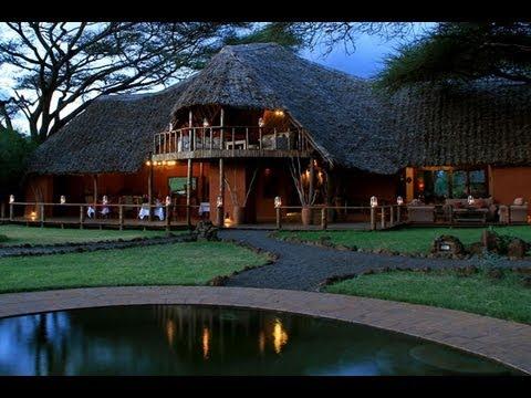 Tawi Lodge, Amboseli National Park. Kenya - Unravel Travel TV