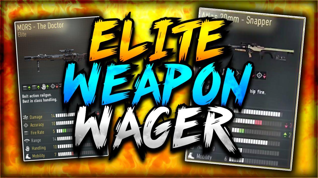 Advanced warfare mors silver bullet elite wager atlas 20mm vs mors