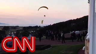 Trump protester breaches security airspace thumbnail