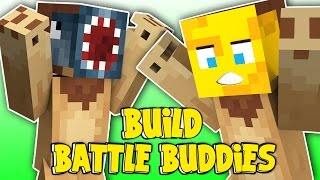Minecraft - Build Battle Buddies! - RAWRR LION! [2]