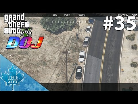 GTA V Department of Justice #35 - Air One goes down -