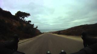 Cycling Torrey Pines - San Diego Hill Training - Inside Hill Descending