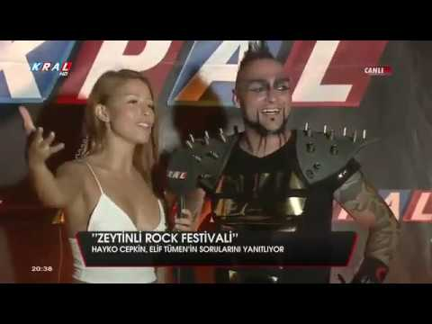 Hayko Cepkin- Zeytinli Rock Festivali Konser Sonrası Röportaj