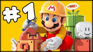 SUPER MARIO MAKER - PART 1 - EVERY MARIO EVER!