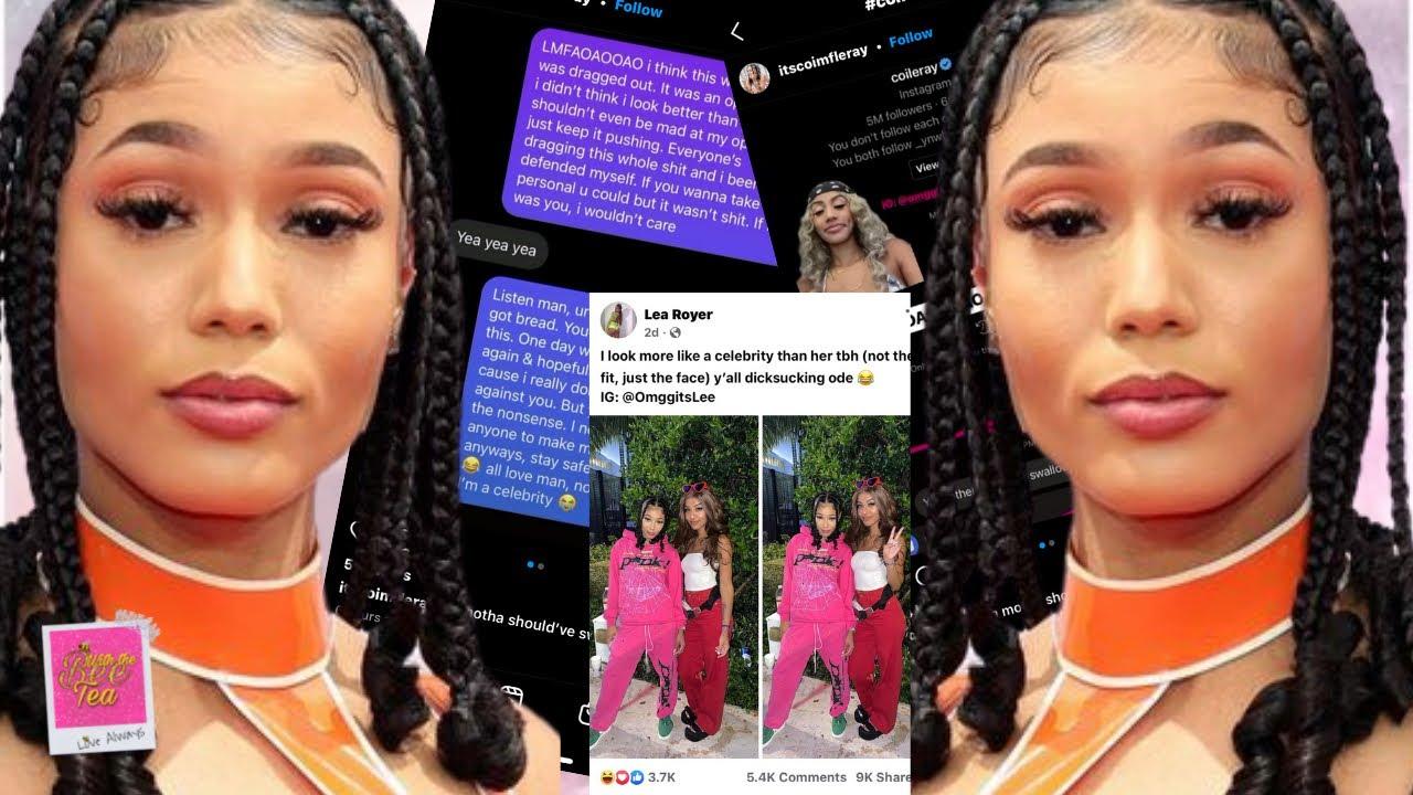 Coi Leray slides in fans DM & calls her out after fan drug her on social media‼️