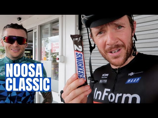 Did I Earn a Snickers 2-Pack? (Cycling the Beautiful Noosa Classic)