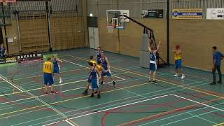 14 october 2017 Rivertrotters M22 vs Oegstgeest M22 40-61 2nd period