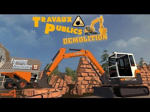 Farming Simulator 15 - TRAVAUX PUBLICS - DC DÉMOLITION - Stappenbach #18