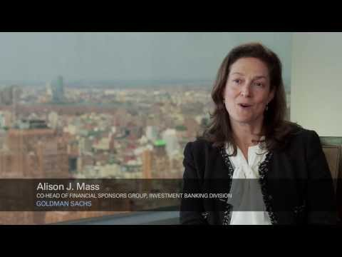 Career Advice: Goldman Sachs' Alison J. Mass - YouTube