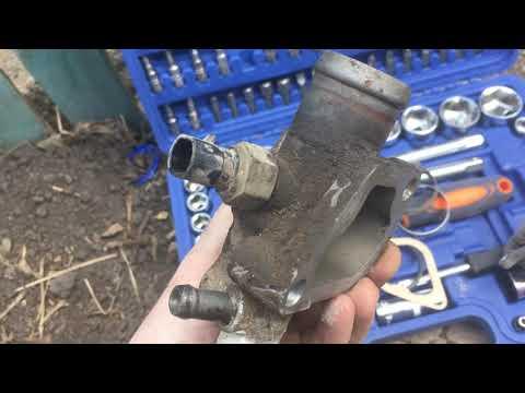 Лада калина 8 закипела, перегрев двигателя, как поменять термостат