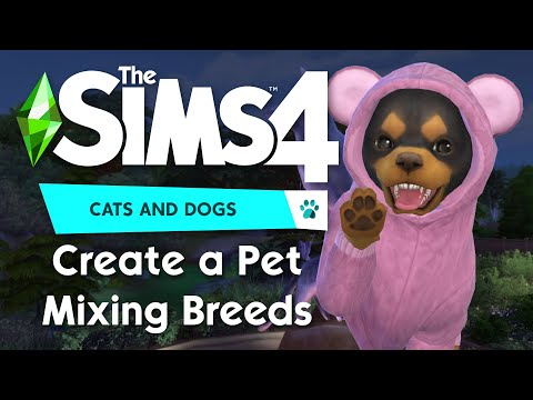 The Sims 4 Cats & Dogs - Mixing Breeds
