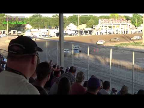 IMCA Hobby Stock Make-up A Feature Thomas County Speedway 6-19-15