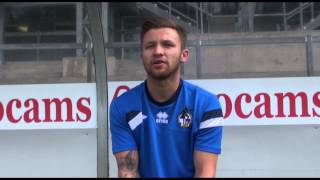 Matt Taylor on signing for Bristol Rovers