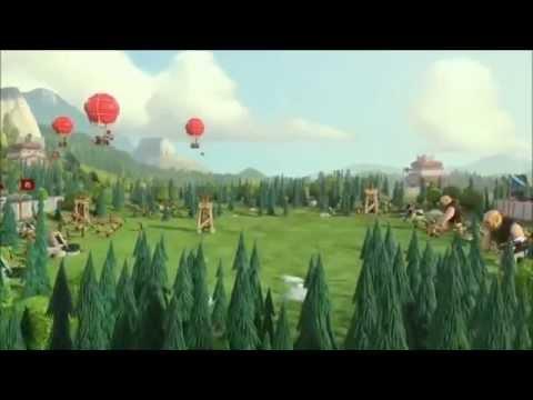 Clash Of Clans Clan Wars Trailer