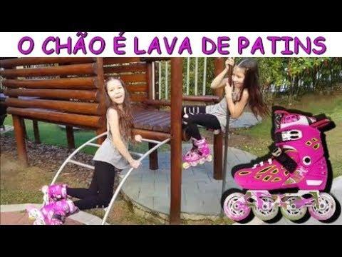 O CHÃO É LAVA DE PATINS