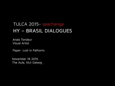 HY – BRASIL DIALOGUES : Anaïs Tondeur