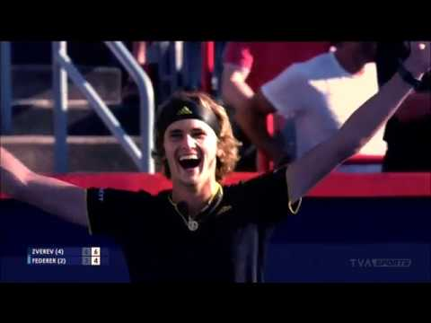 Alexander Zverev crowned champion of Rogers Cup in Montreal
