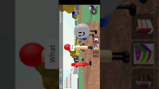 Playing BFDI on Roblox part 1