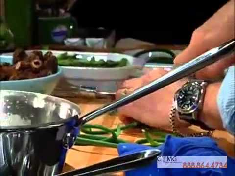 Booking Tom Colicchio Cooking Demonstration - YouTube