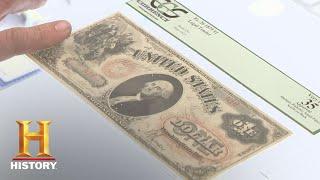 Pawn Stars: 1875  and 1883  Bills (Season 6) | History