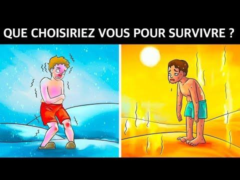 QUE CHOISIRIEZ VOUS POUR SURVIVRE ? | Eureka