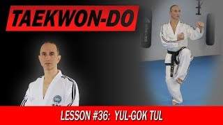 Yul-Gok Tul - Taekwon-Do Lesson #36