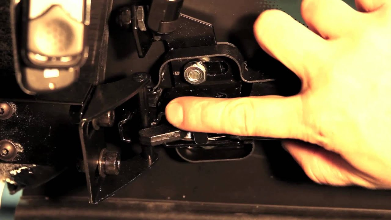 hight resolution of ht tailgate latch replacement and adjustment new type
