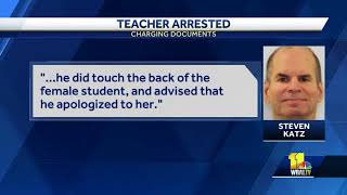 Substitute teacher charged with sex abuse of minor