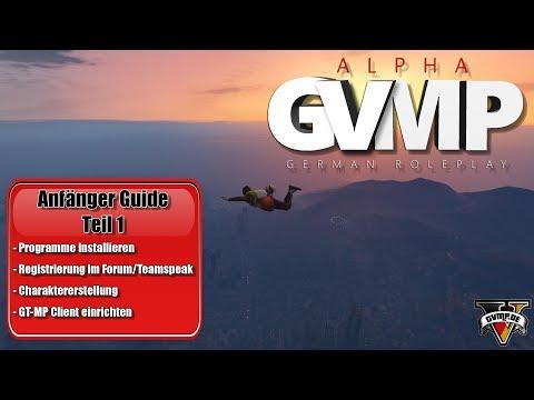 GVMP Anfänger Guide Teil 1 | Registrierung Forum, Teamspeak, Voice-Plugin...