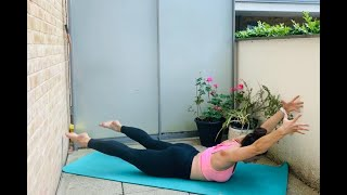 Yoga HIIT - let's sweat and get stronger! (40 Mins)