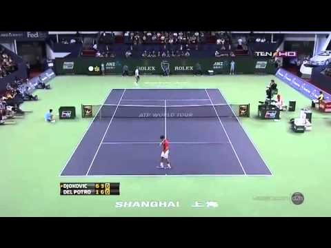 FINAL ATP HIGHLIGHTS SHANGHAI ROLEX OPEN MASTERS 2013 ~ Novak Djokovic Vs Juan Martín del Potro