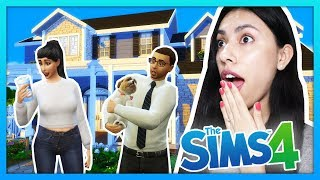 MOVING IN TO OUR NEW HOUSE AS A COUPLE! - The Sims 4 - My Sims Life - Ep 17