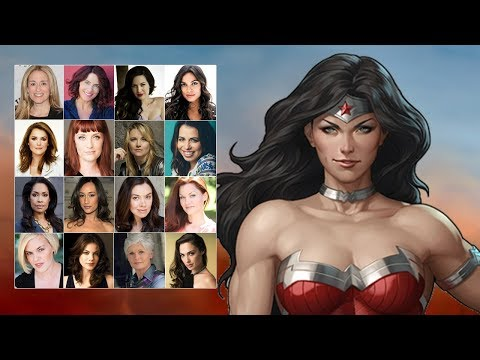Comparing The Voices - Wonder Woman (Updated)