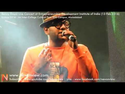 Benny Dayal Live In Concert | Kaise Mujhe Tum Mil Gaye Song from Ghajini Movie | EDI Ahmedabad