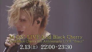 M-ON! LIVE Acid Black Cherry 「Acid Black Cherry 5th Anniversary LI...