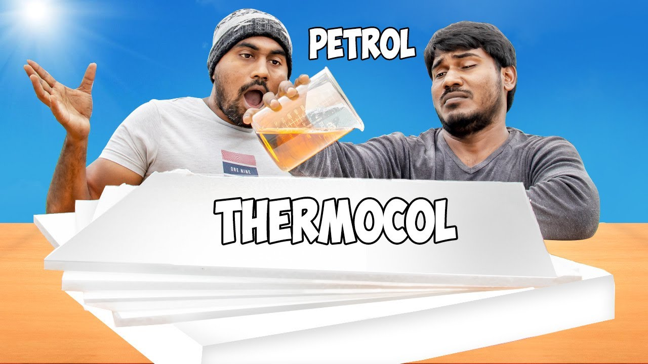 Got Shocking Result ! Petrol vs Thermocol Experiment