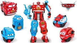 Disney Pixar Cars 3 Joint Union McQueen Red Mater Dinoco Francesco Car&Truck Transformation thumbnail