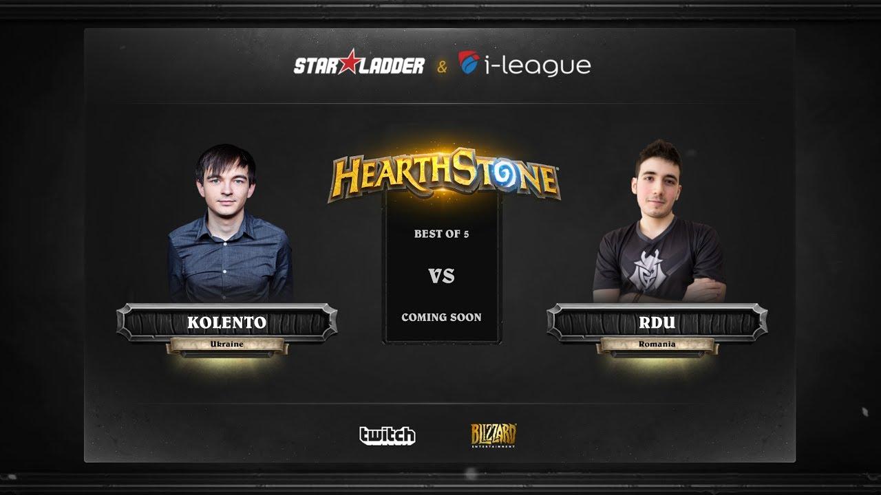 [EN] Kolento vs RDU | SL i-League Hearthstone StarSeries Season 3 (25.05.2017)