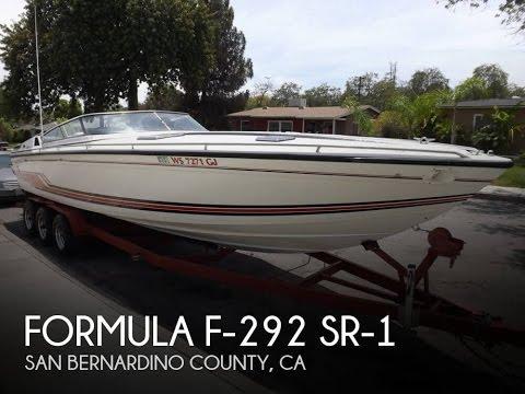 [SOLD] Used 1989 Formula F-292 SR-1 in Upland, California