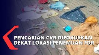 Download Temuan Terbaru Dalam Pencarian CVR Pesawat Sriwijaya Air di Hari Keenam