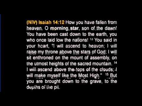 Morning star bible verse lucifer NIV calls