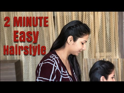 HOW TO | Front Twisted hairstyle | Easy Hairstyle thumbnail