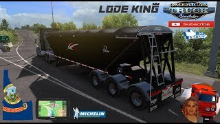 American Truck Simulator (1.35)   Lodeking Prestige Ownable Trailer 1.35.x Mack Anthem Project North West v0.2.3 (Idaho) + DLC's & Mods